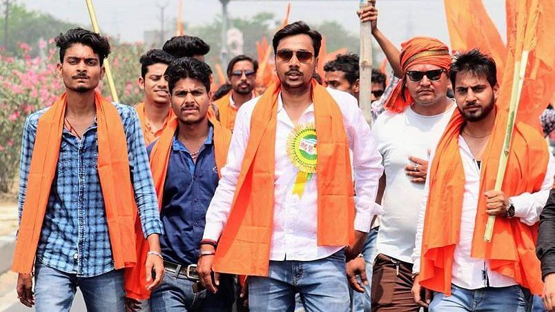 Nagesh Samrat (Third from left).