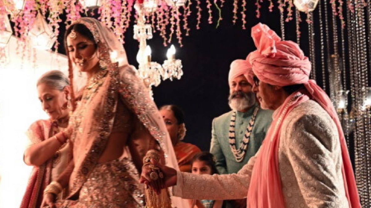 Amitabh Bachchan Dances With Jaya at Katrina Kaif's 'Wedding'