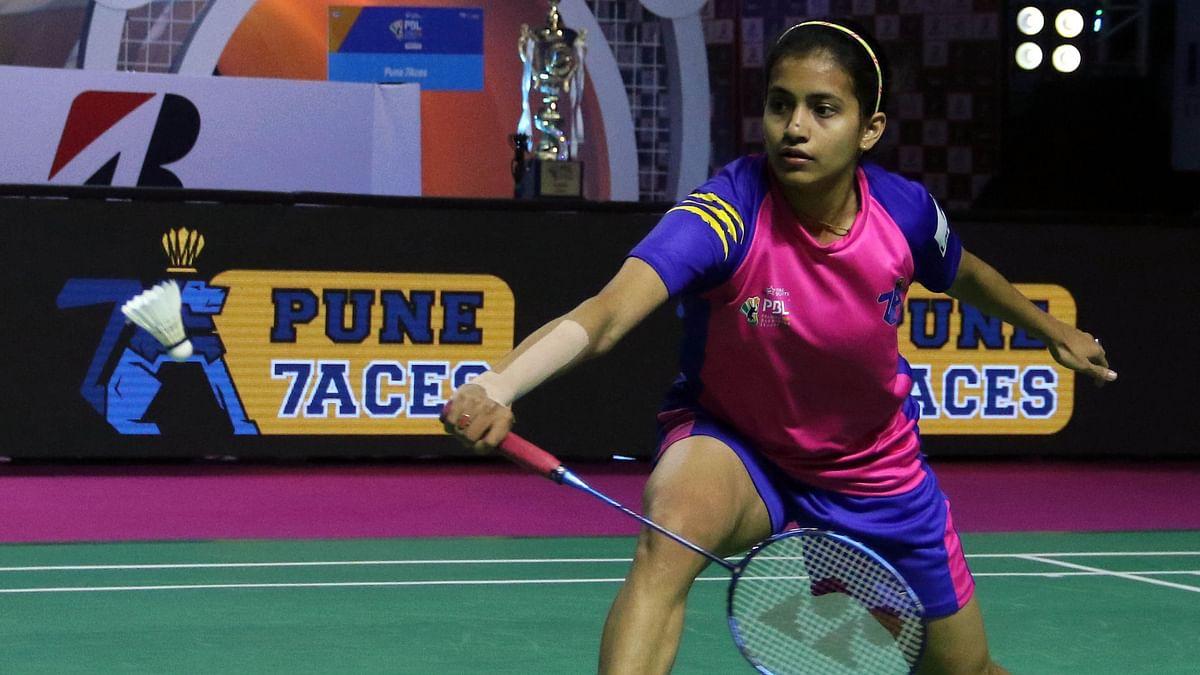Rituparna Das of Pune 7Aces went down 15-3, 15-9 to world No. 1 Tai Tzu.