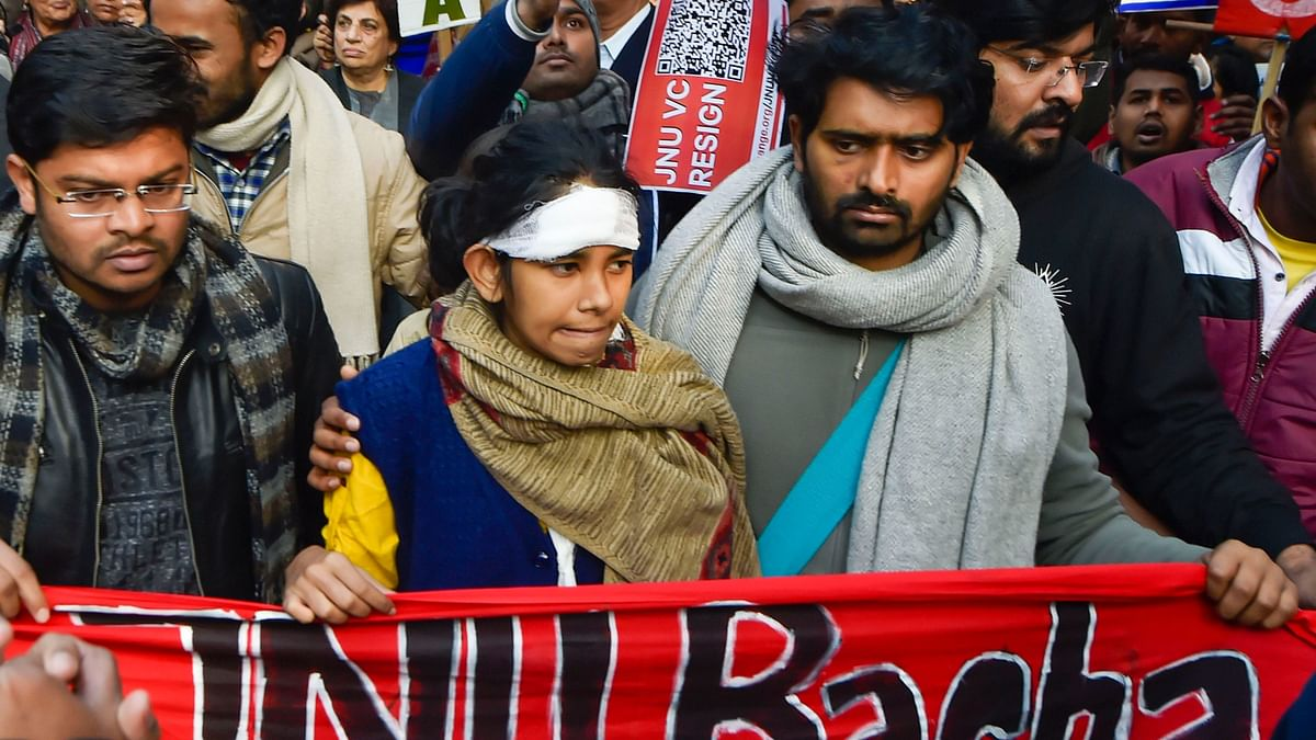 JNU Forms 5-Member Panel to Probe 5 Jan Violence on Campus: VC