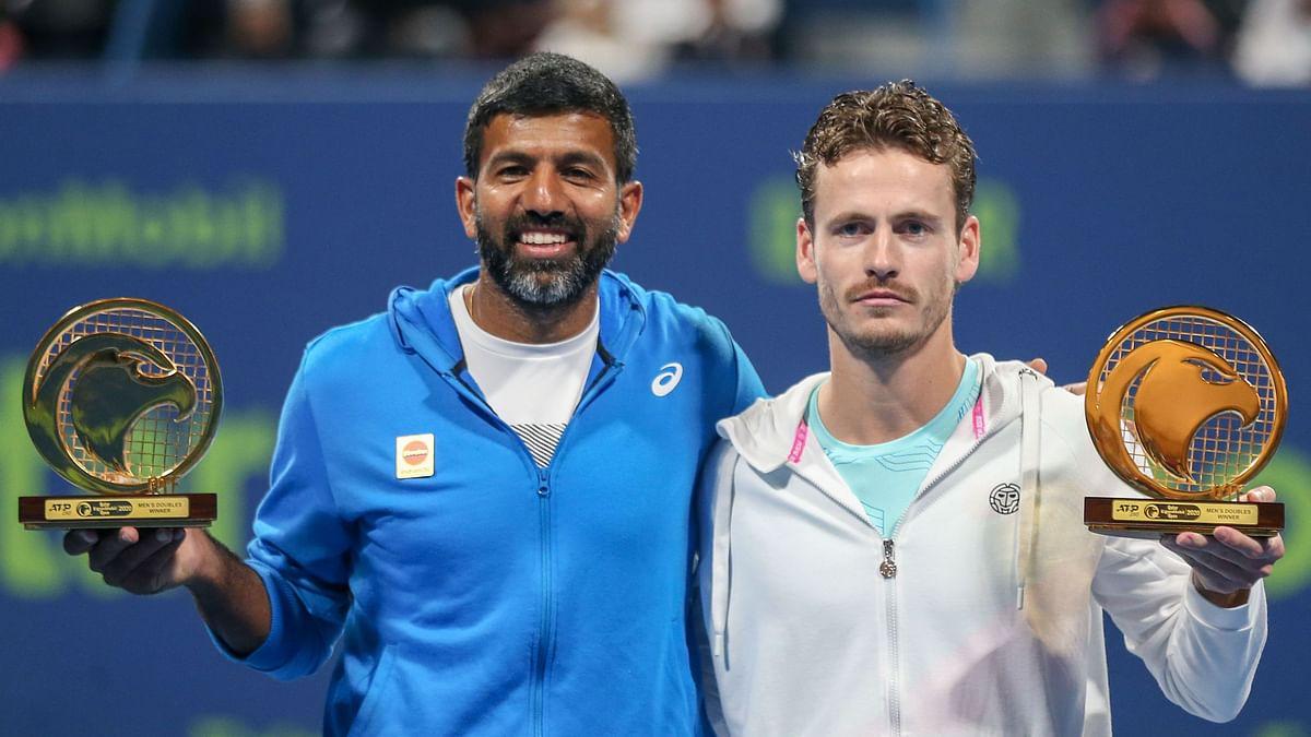 Rohan Bopanna & Wesley Koolhof Clinch Doubles Title at Qatar Open
