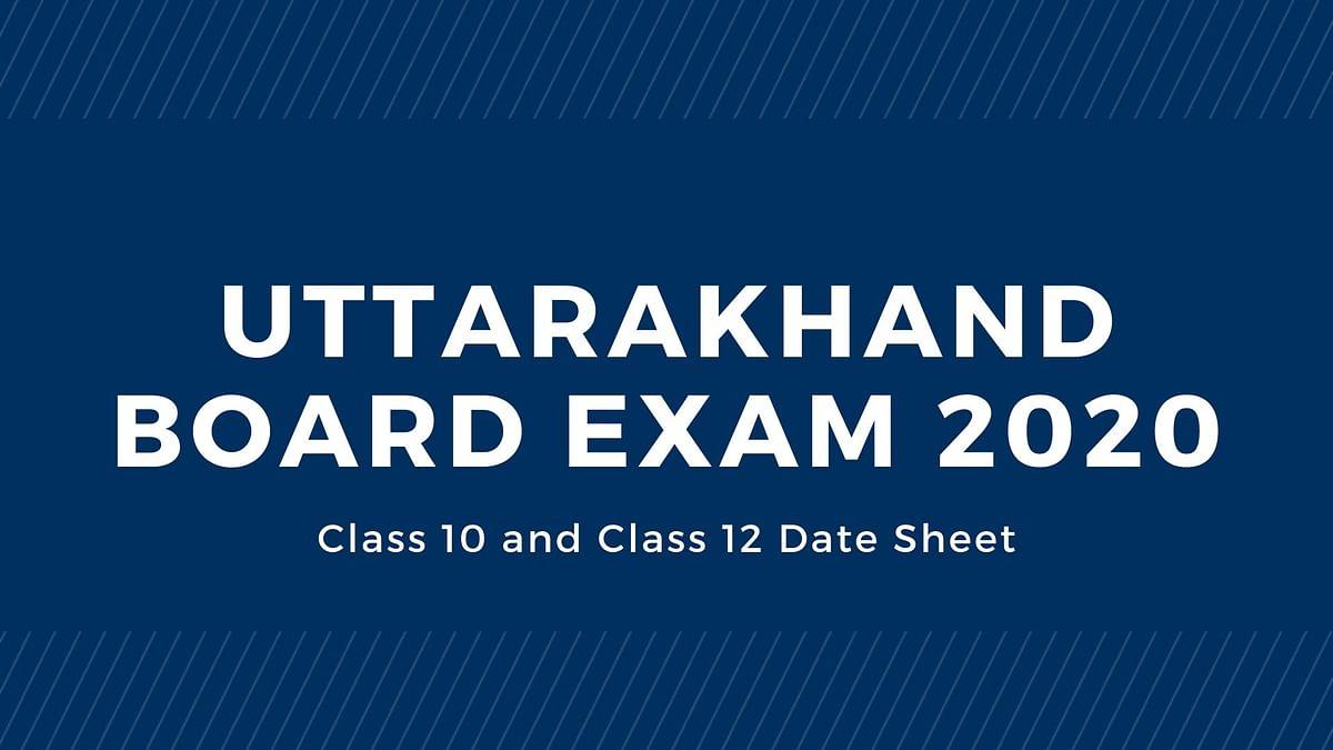 Uttarakhand Board Date Sheet 2020 Full Schedule