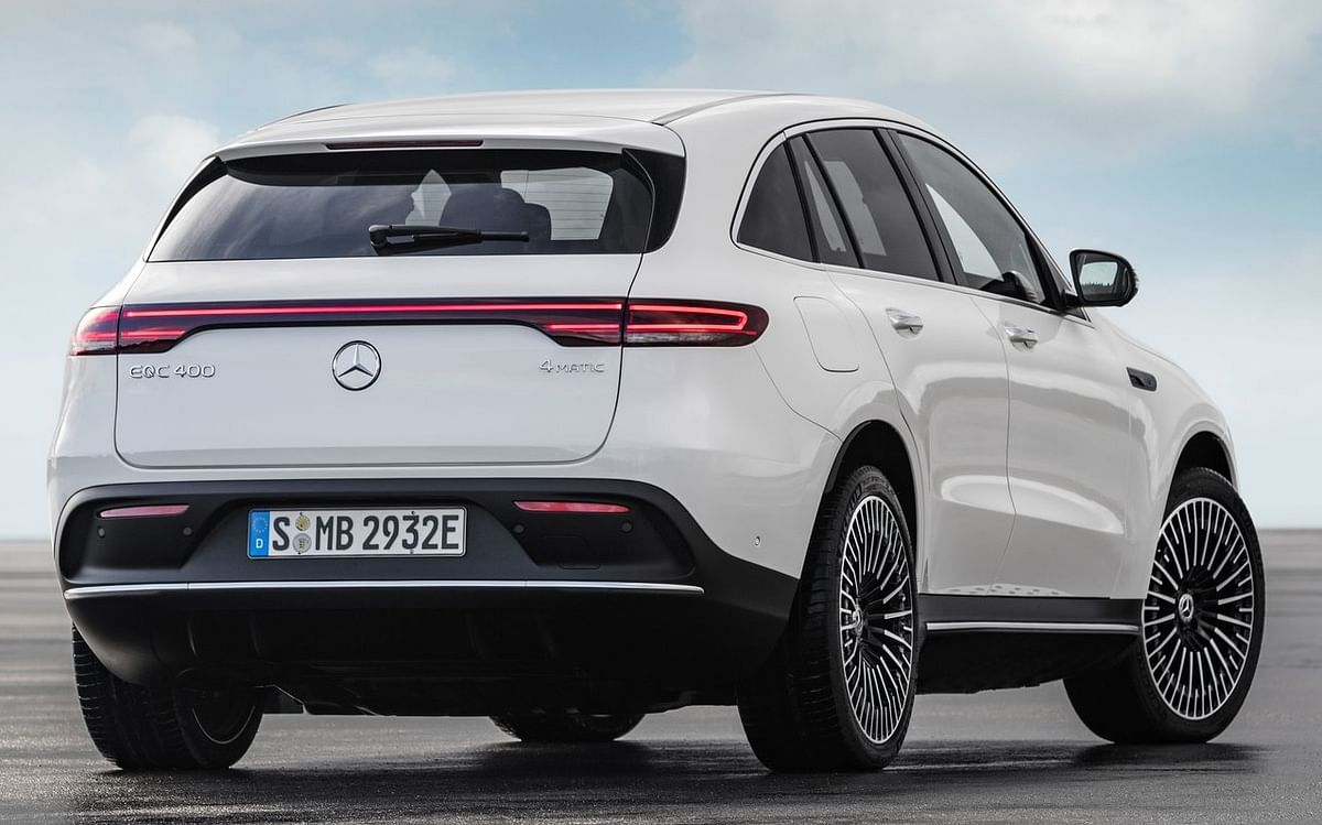 The Mercedes-Benz EQC 400 comes with dual-motor, all-wheel drive.