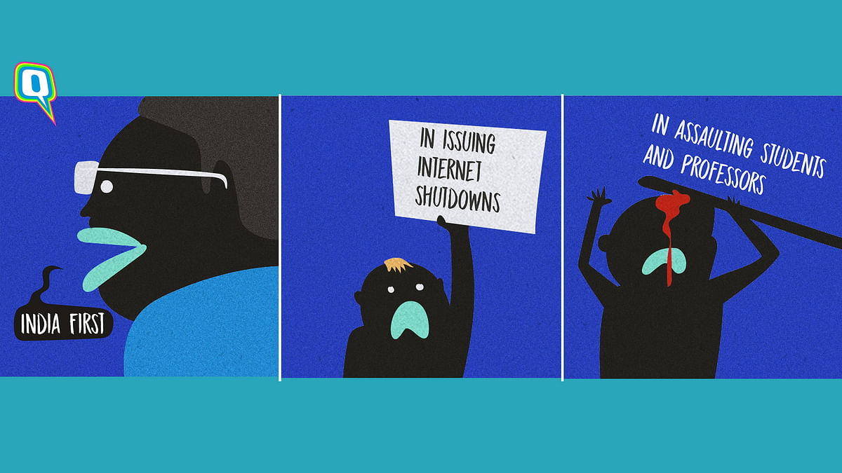 India First? Yeah, in Shutting the Internet and Attacking Students