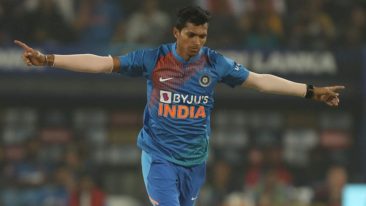 Navdeep Saini was adjudged as the man-of-the-series as India beat Sri Lanka in the third T20I in Pune on Friday.
