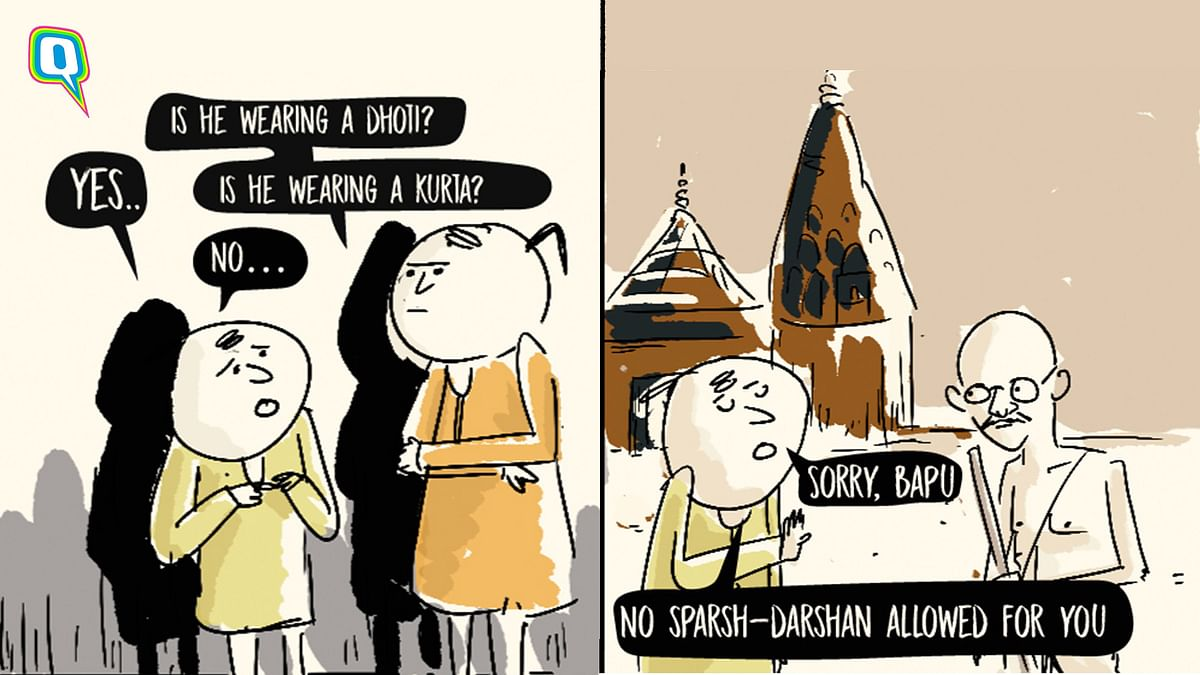 Even Gandhiji Would Have Failed Varanasi Temple's New Dress Code