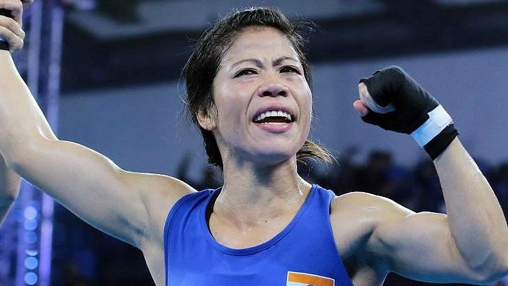 MC Mary Kom explained the nuances of injury-management to fellow boxers in an online education programme.