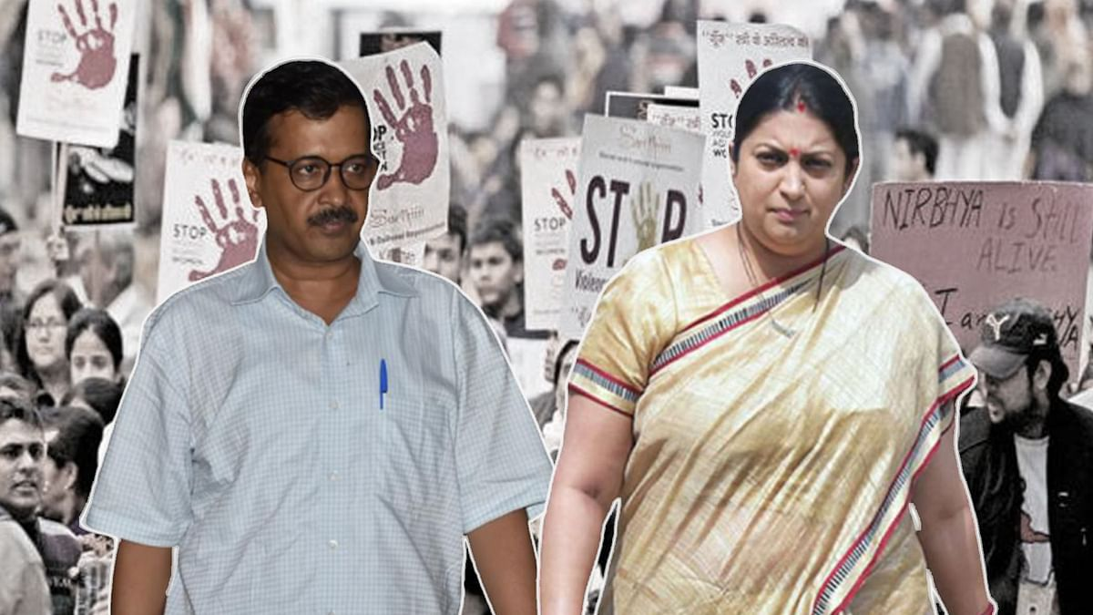 Kejriwal, Irani Wage Twitter War Over 'Appeal' to Women Voters