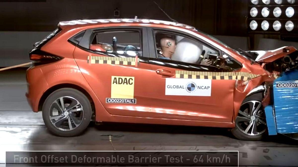 Tata Altroz Hatchback Scores 5 Stars in Global NCAP Crash Test