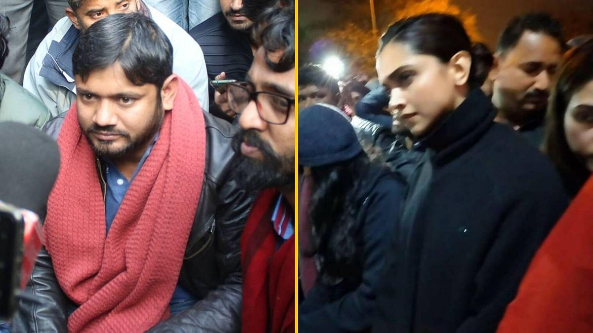 Patriotic Endorsing Modi, Traitor at JNU: Kanhaiya on Deepika