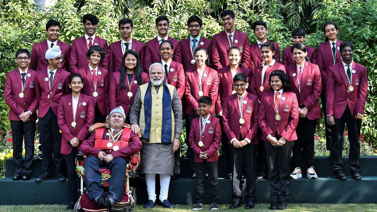 'You Inspire Me': PM to Kids Who Won National Awards