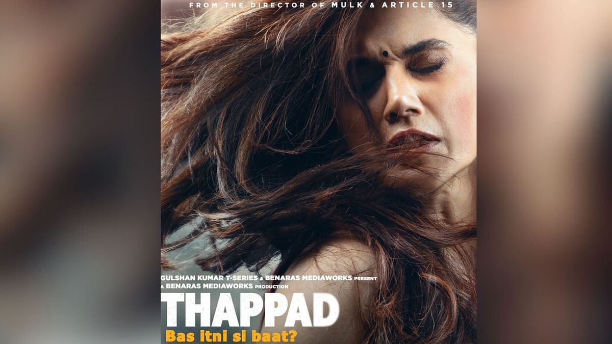 'Thappad' First Look: Taapsee Stuns in a Powerful Poster