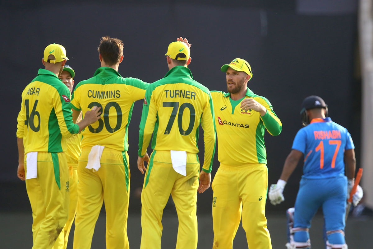 1st ODI: Openers Finch & Warner Smash Tons, Hand India Big Defeat