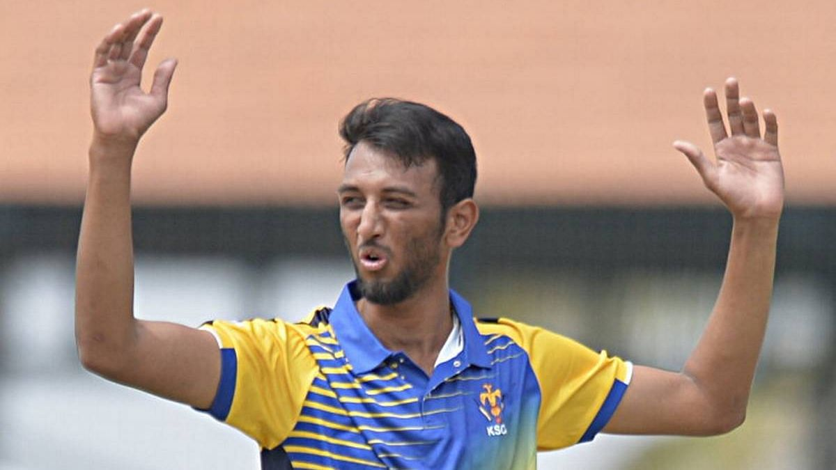 Prasidh Krishna was the joint second-highest wicket-taker in 2018 Vijay Hazare Trophy, with 17 wickets from 8 matches