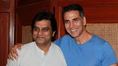 Director Jagan Shakti with Akshay Kumar