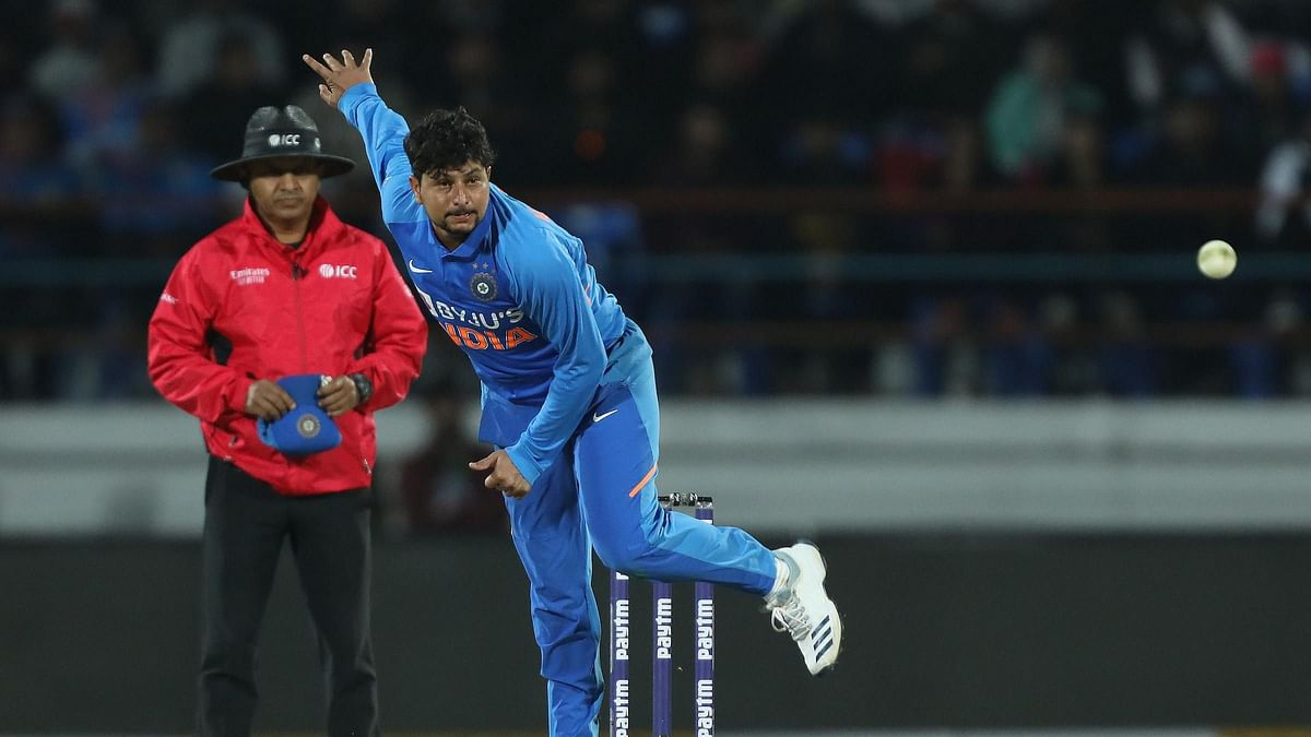 Kuldeep Becomes Fastest Indian Spinner to Notch 100 ODI Wickets