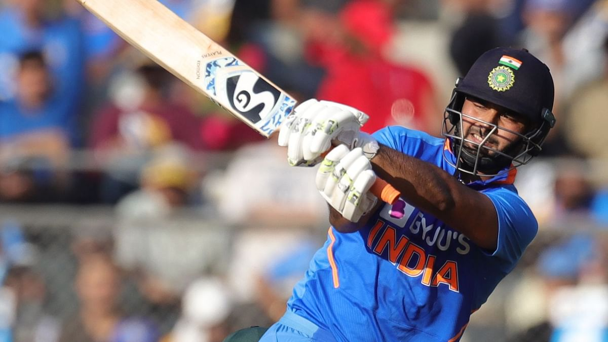 Rishabh Pant had suffered a concussion while playing the first ODI against Australia in Mumbai and hasn't played a match since.