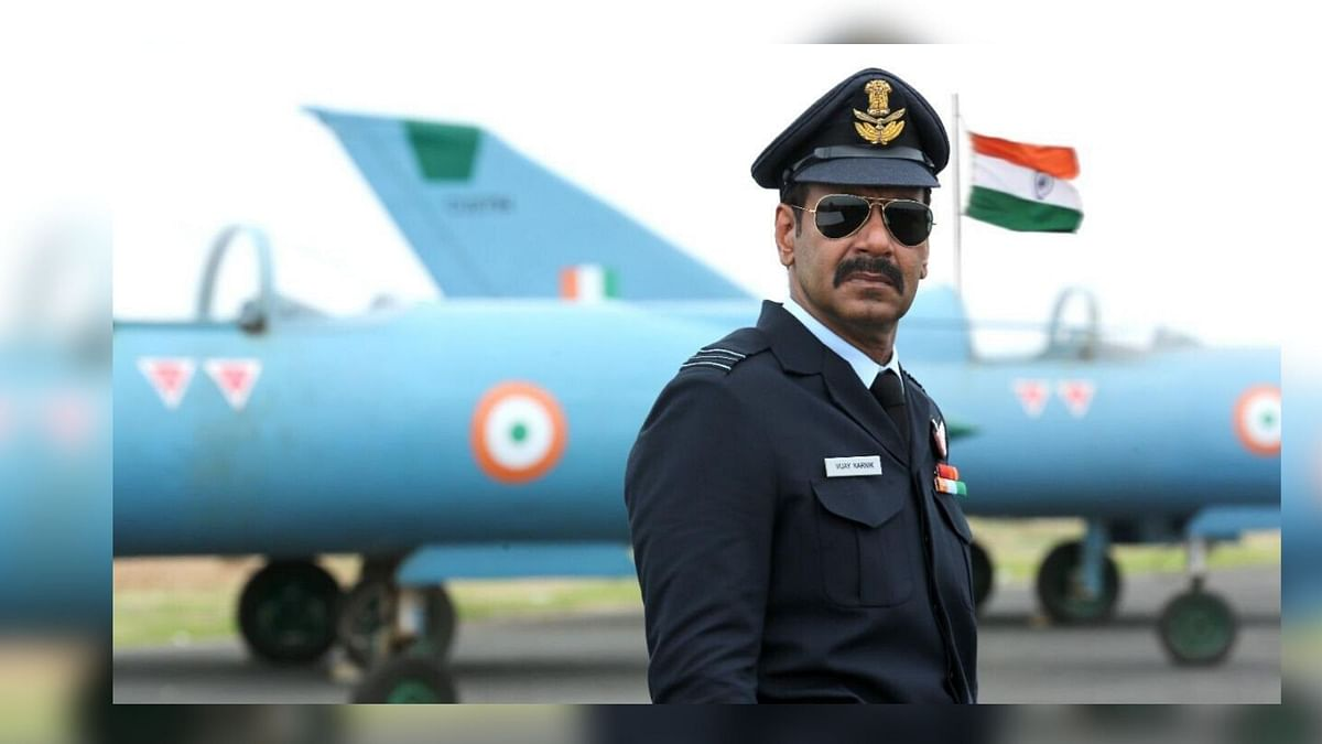 Ajay Devgn's first look from<i> Bhuj: The Pride of India</i>.