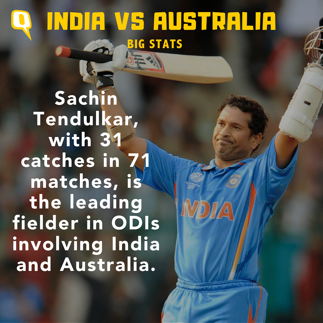 Stats: Rohit, Sachin, Virat Lead Record Books in India-Aus ODIs