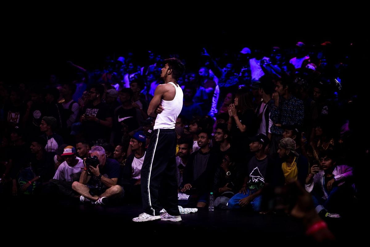 B-Boy Tornado at the Red Bull BC One 2019 Last Chance Cypher, Mumbai