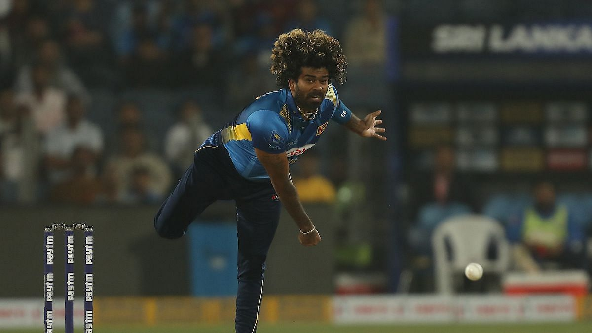 Lasith Malinga failed to pick a wicket in his four overs while leaking 40 runs.
