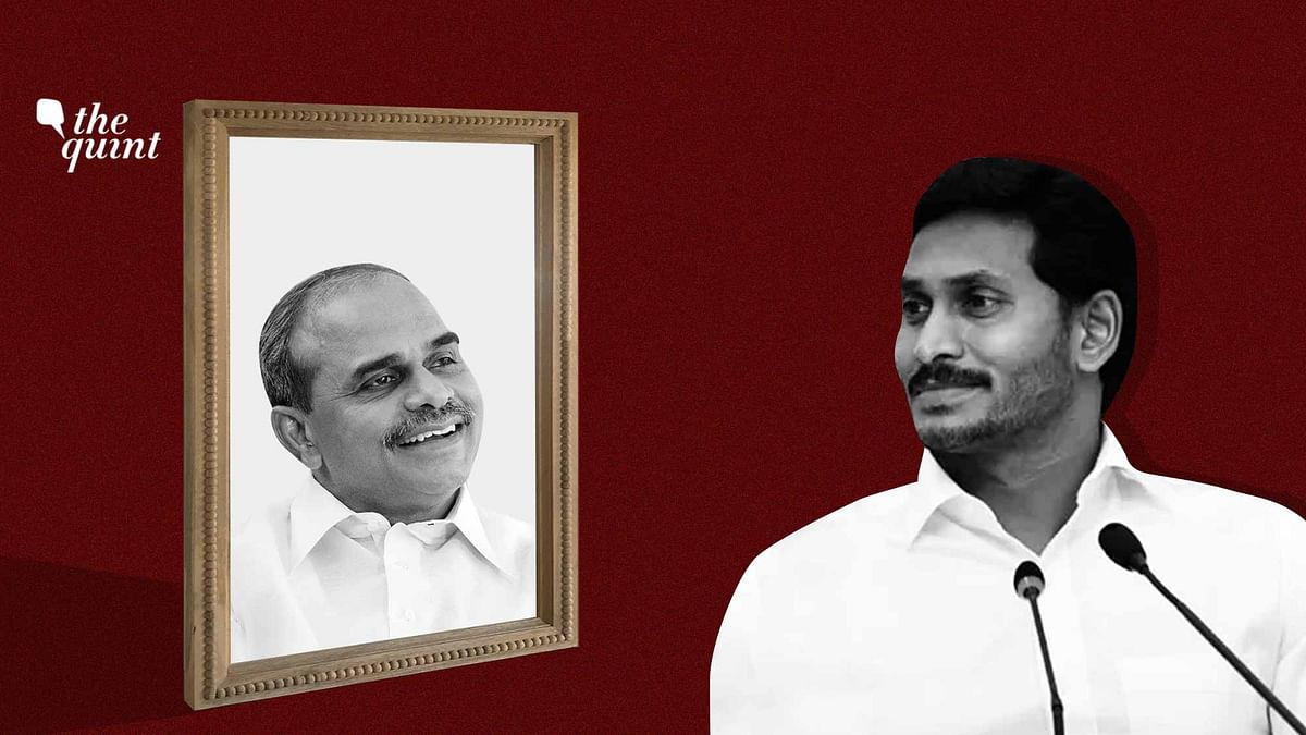 Image of Andhra CM Jagan Reddy (R) and his father, YSR Reddy (L) used for representational purposes.