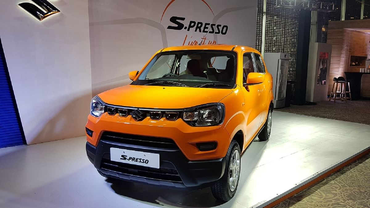 Maruti Suzuki S-Presso was launched in October 2019 and is one of its best-sellers.