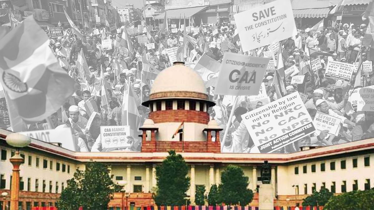 CAA Row: SC Notice to UP Govt Over Notices For Recovering Damages