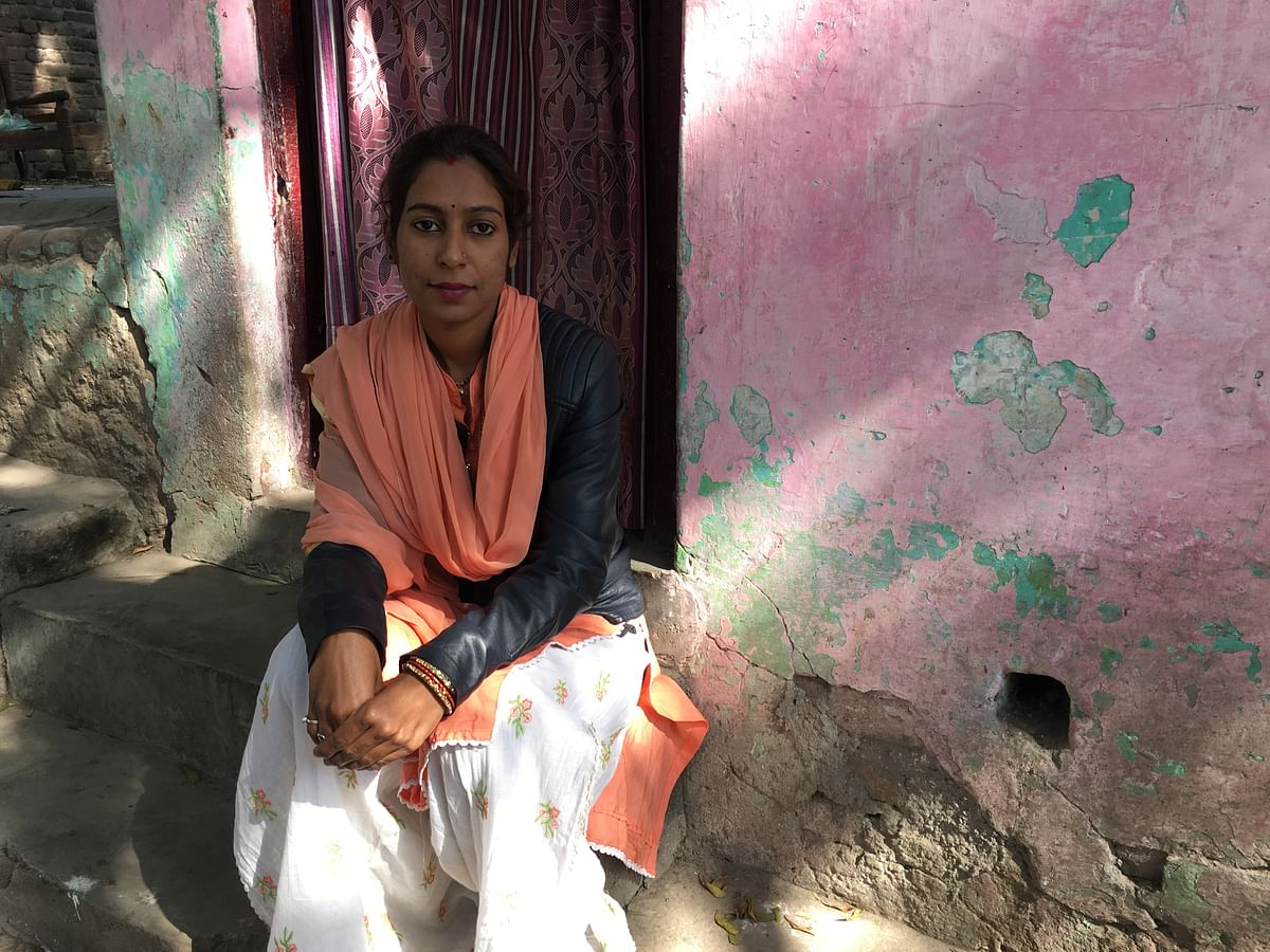 Sapna had migrated from Kanpur with her husband to Gandhi Nagar in 2016.