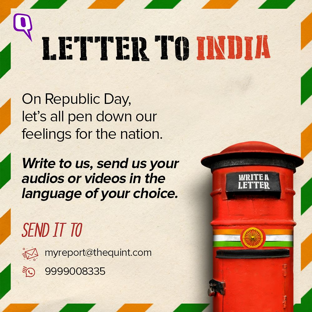 Dear India, Our Freedom is in Danger, But We Will Fight to Save it