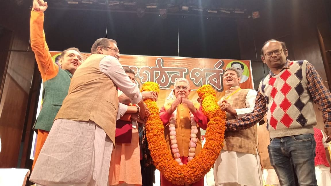 Dilip Ghosh Re-elected As West Bengal BJP President