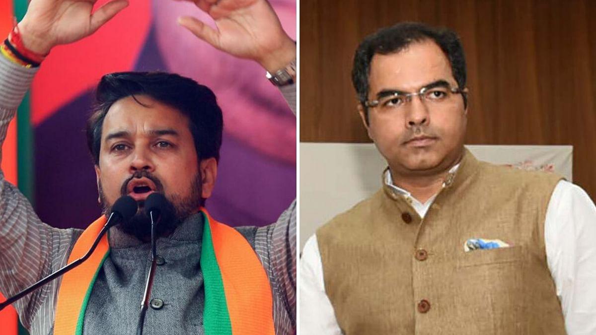 Delhi Polls: Former CEC Urges EC to File FIR Against Thakur, Verma