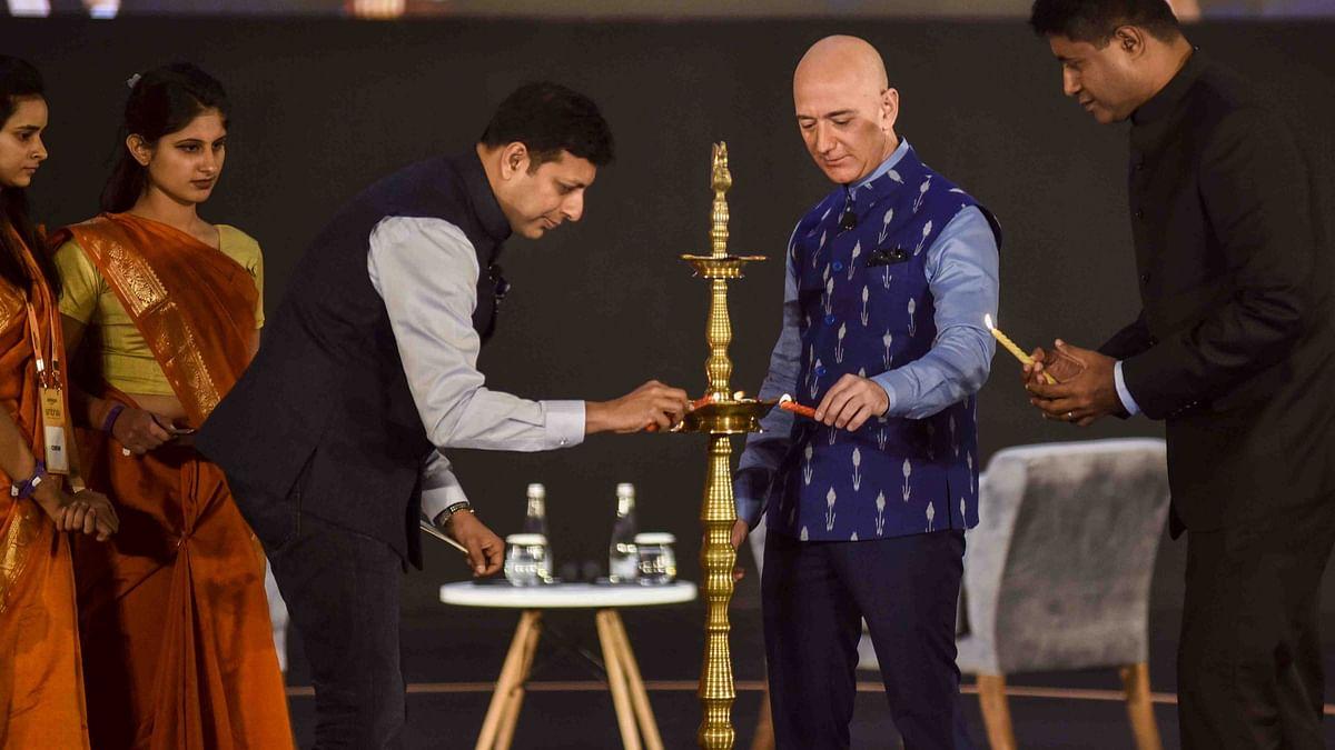 Amazon CEO's Many Battles in India: Vendors, Government & Ambani