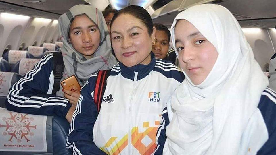 Nusrat, Yasmeen First to Represent Leh & Ladakh at KIYG