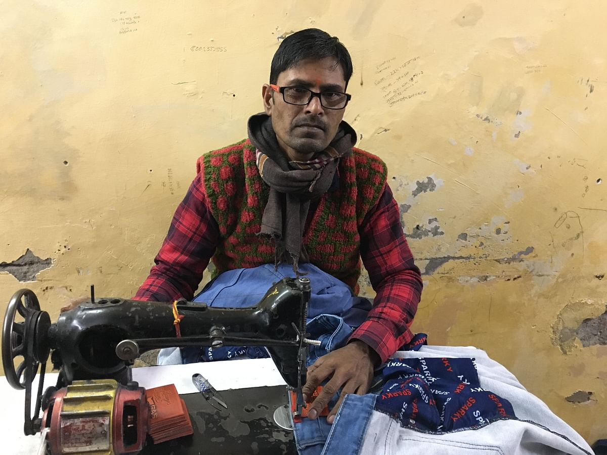 As a tailor, Bhola's daily earnings have dropped from Rs 500 to Rs 100 in the last two-and-half months.