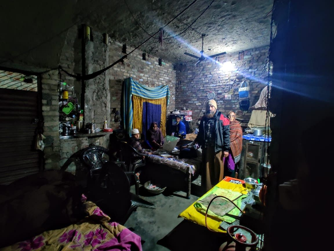 Anas' family has had regular visits from mediapersons since 20 December. Living in a three-floor home that has not been  completely constructed, they wait for justice.