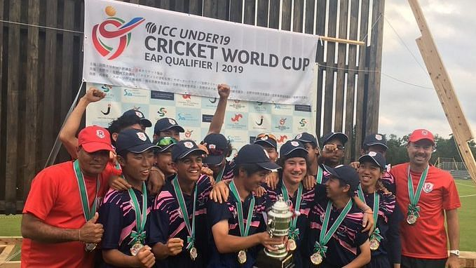 Japan had won all four matches of the ICC Under-19 World Cup Qualifier East Asia-Pacific Region last year.
