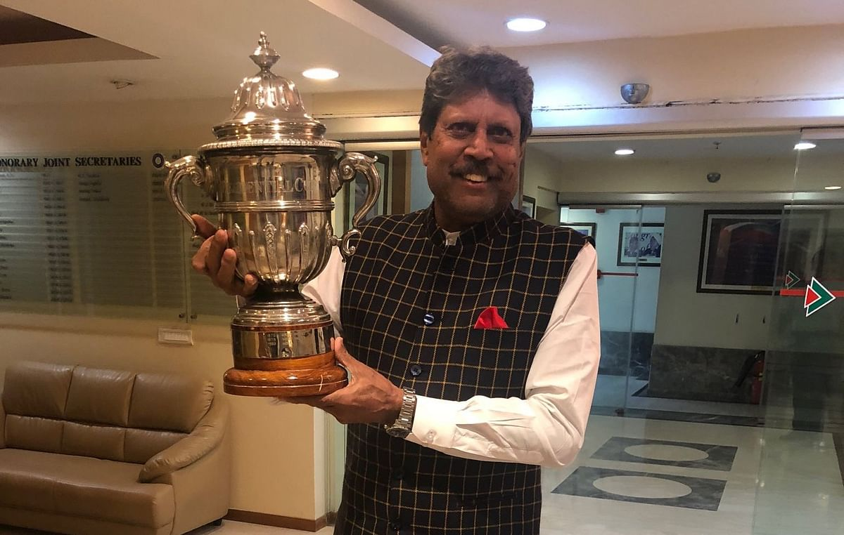 Kapil Dev has encouraged everyone to stay indoors as it's a small part we can play in the fight against Coronavirus.