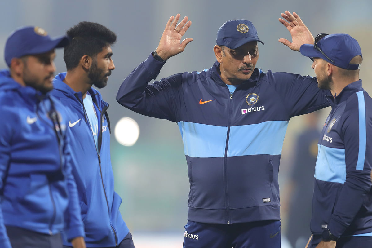 """Ravi Shastri termed the idea of four day Tests as """"nonsense""""."""