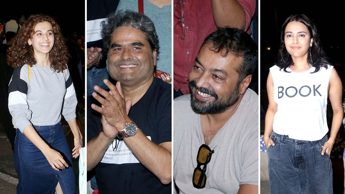 Watch: Anurag Kashyap, Swara, Taapsee Join Protest at Carter Road
