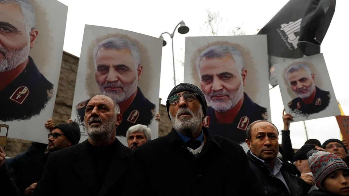 The strikes come after top Iranian General Qassem Soleimani was killed in a US drone strike in Baghdad.