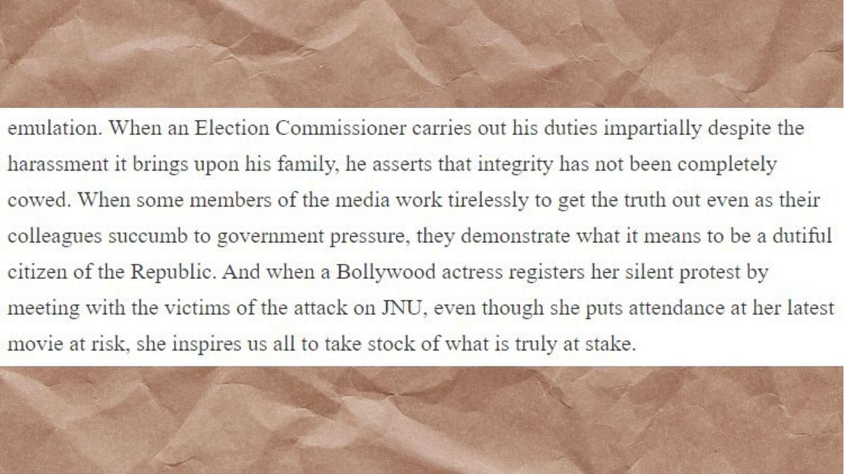 JNU Violence: Raghuram Rajan Backs Deepika's Silent Protest