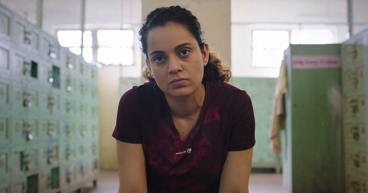Kangana Ranaut in a still from <i>Panga</i>.