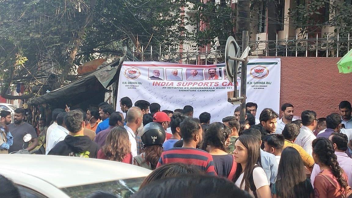 'You Aren't Indians': BJP Men Heckle B'luru Students Opposing CAA