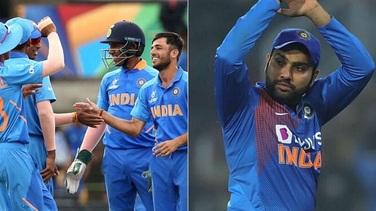Rohit Sharma Backs Indian Colts to Bring Back U-19 WC Trophy