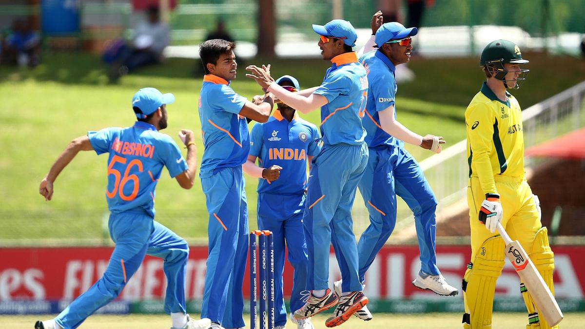 U-19 WC QF: India Beat Australia by 74 Runs to Reach Semifinals