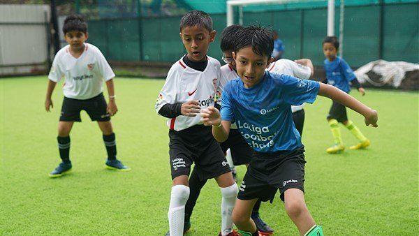 Sevilla FC Hold Football Fiesta For School Students in Pune