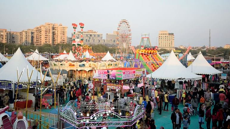 File image of Surajkund Mela 2020. Image used for representational purposes only.