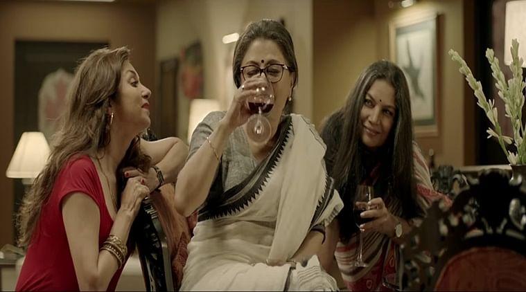 Shabana Azmi, Aparna Sen and Lilette Dubey in <i>Sonata.</i>
