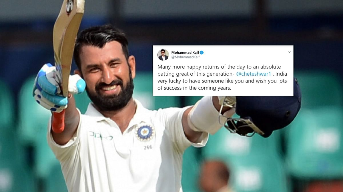 'Epitome of Class': Cricketers Wish Pujara on 32nd Birthday